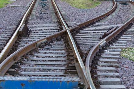 Railway Track Split